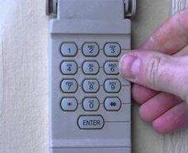 Tarrant County keypad